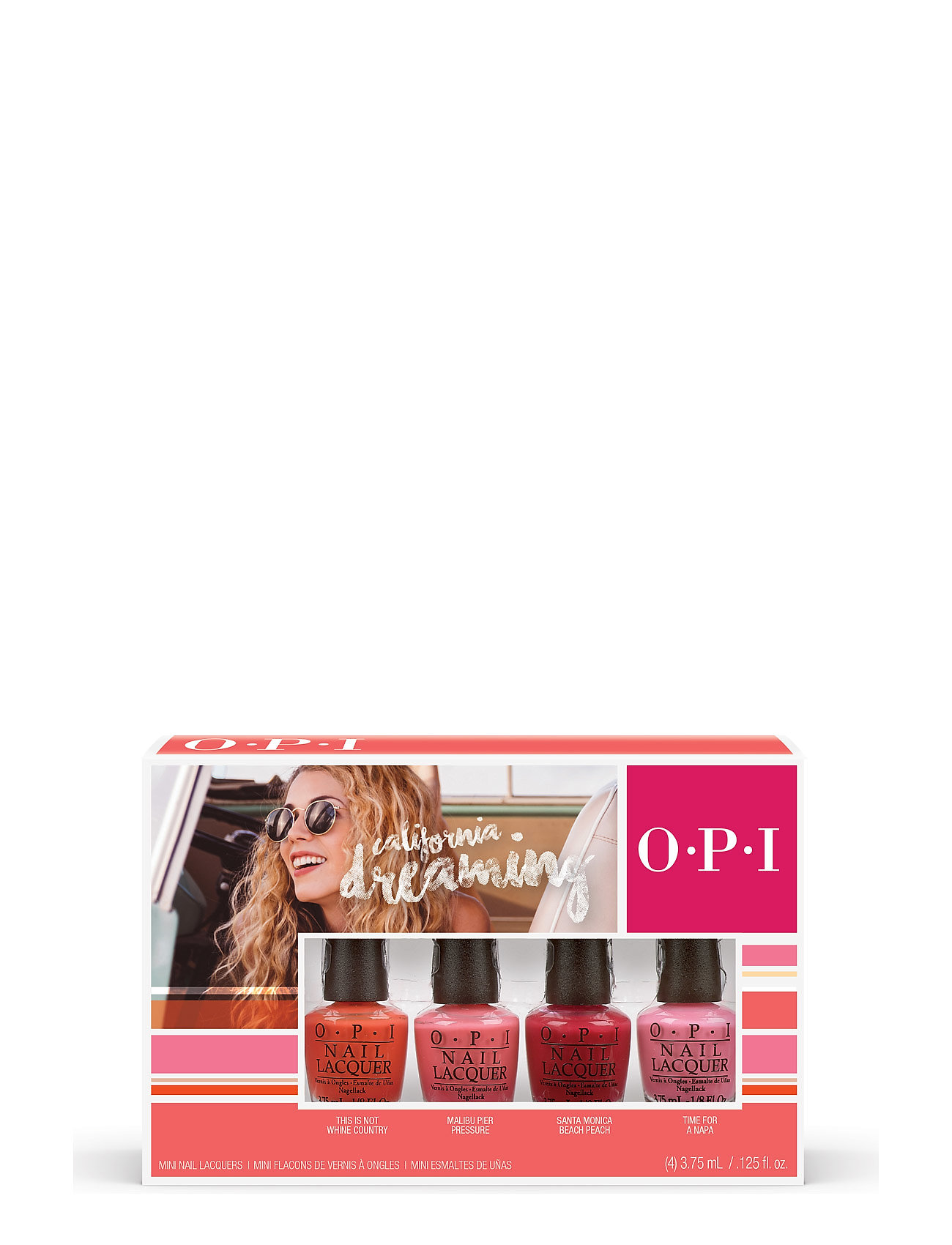 OPI Minikit CALIFORNIA DREAMING