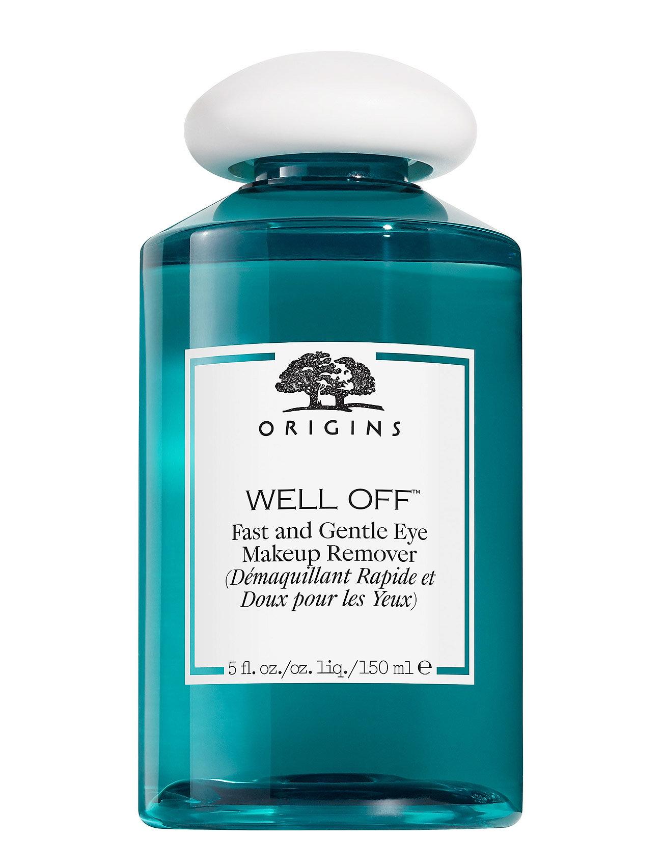 Well offâ® fast and gentle eye makeup remover fra origins fra boozt.com dk