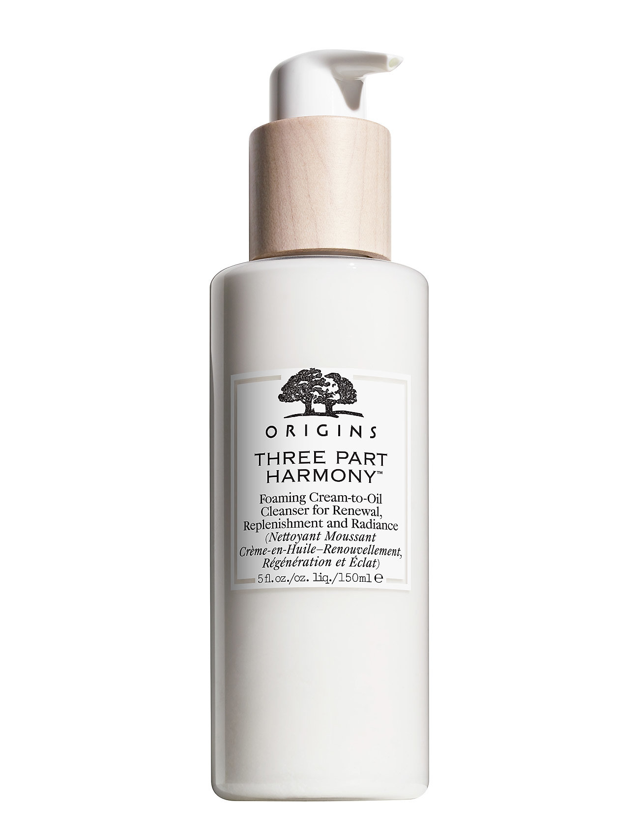 Three part harmony foaming cream to oil cleanser fra origins fra boozt.com dk