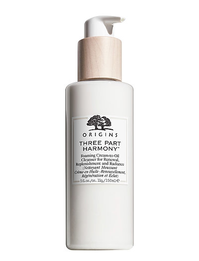 Three Part Harmony Foaming Cream To Oil Cleanser - CLEAR