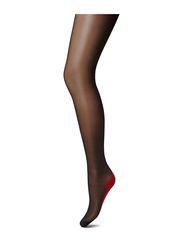 OROBLU RIGA TIGHTS - BLACK/RED