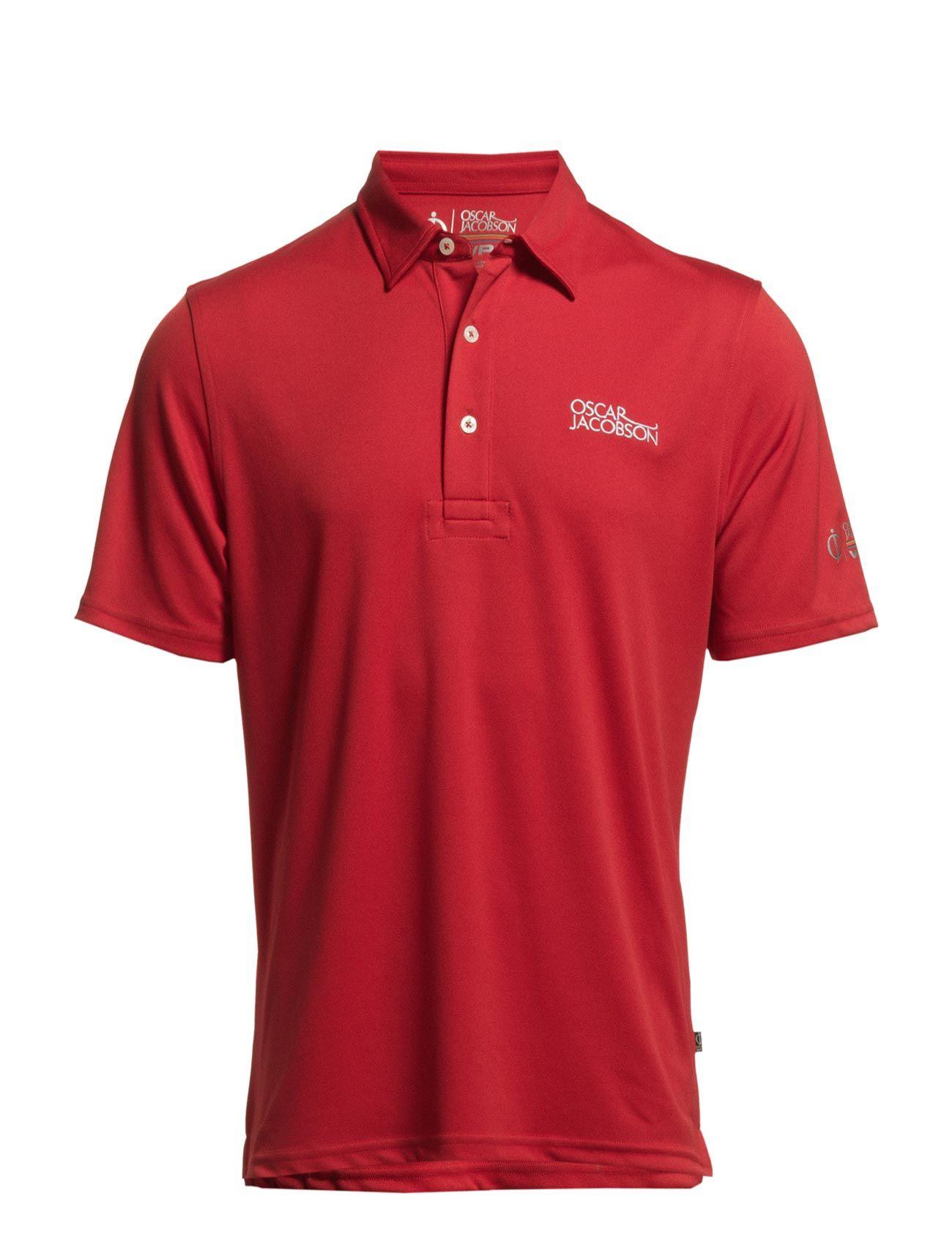6166 Collin Tour Poloshirt Oscar Jacobson Golf Golf polo t-shirts til Herrer i