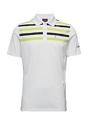 Domingo Pin Poloshirt - 970 - WHITE