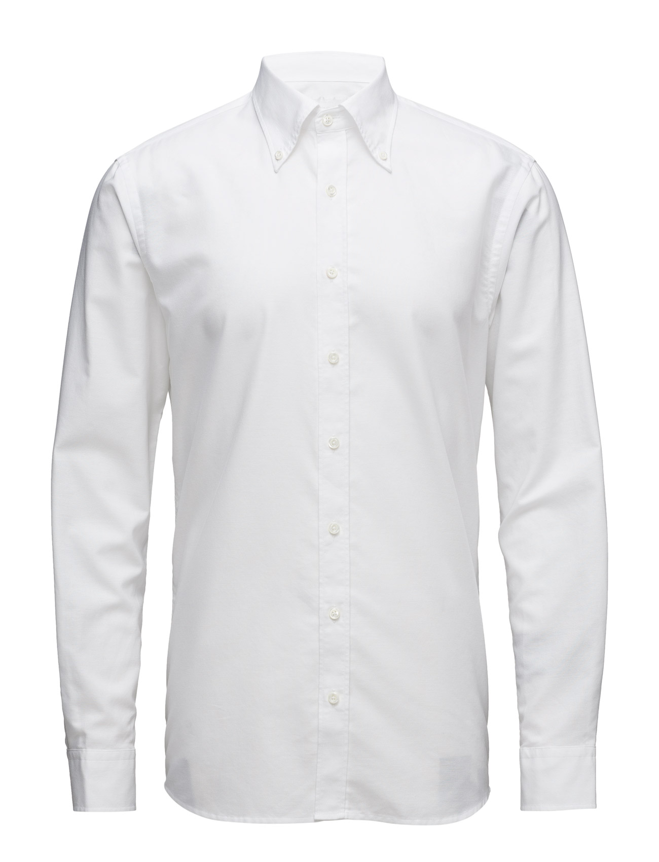 8845f063bad Find Harry 2 Slim Shirt Oscar Jacobson Casual sko i hvid til Herrer hos  Boozt.dk