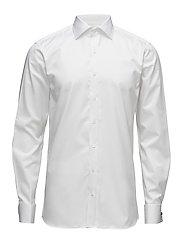 Hawk slim shirt double cuff - 921 - WHITE