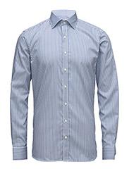 Hawk slim shirt - WHITE / BLUE