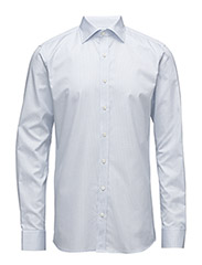Hawk slim shirt - WHITE / BLUE