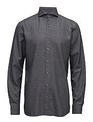 Herman 2 slim shirt wash - 110 - DARK GREY