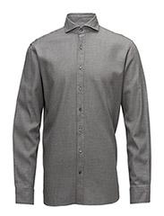 Herman 2 slim shirt wash - 138 - Light Grey