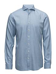 Herman 2 slim shirt wash - 290 - Oxford Blue