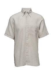 Higgins 3 slim shirt wash - 470 - LIGHT BEIGE
