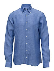 Hubert 3 slim shirt wash - CARIBBEAN BLUE