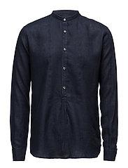 Hurby reg shirt wash - 222 - DARK BLUE