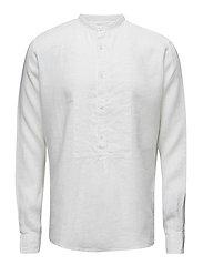 Hurby reg shirt wash - 921 - WHITE