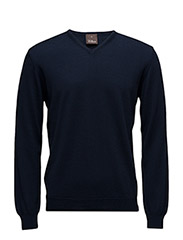 Wyatt V-neck - 210 - Blue
