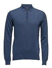 Ruben Poloshirt L/S - 227 - BLUE