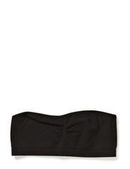 SEAMLESS F TUBE TOP BOX 214 - Black