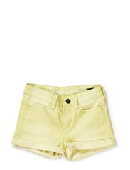 FOFI F LW DENIM HOT PANTS 214 - Elfin Yellow