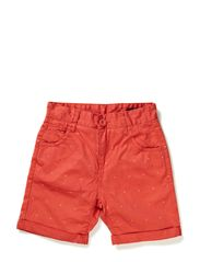 EDON M CHINO SHORTS 214 - Spiced Coral