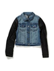 OBI F DENIM JACKET 114 - Medium Blue Denim