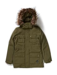 ZUMBA F DOWN JACKET 314 - Ivy Green