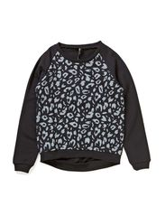 JUICE F O-NECK SWEAT 414 - Black