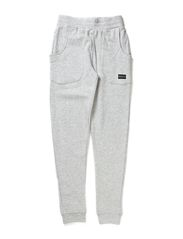 KUNNIE M SWEAT PANTS 414 - Medium Grey Melange