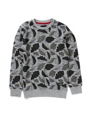 ITEM M SWEAT 414 - Medium Grey Melange