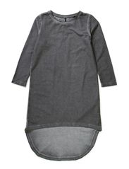 ELIN F 3/4 SL DRESS 514 - Pewter