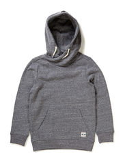 OFNCALEB M LS SWEAT 115 - Medium Grey Melange