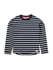OFNHIGH F LS O-NECK SWEAT 115 - Dress Blues