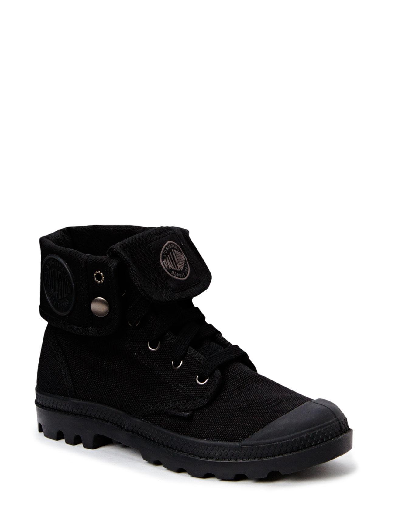 Baggy Ladies Palladium Sneakers til Damer i Sort