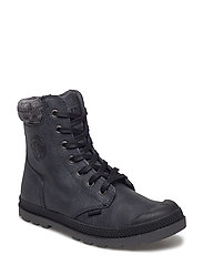 Pampa Hi Knit LP Ladies - BLACK