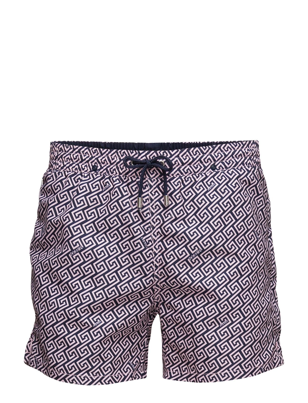 Meander Panos Emporio Shorts til Mænd i Sort