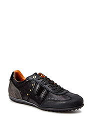 SCAFITI LOW MEN - BLACK