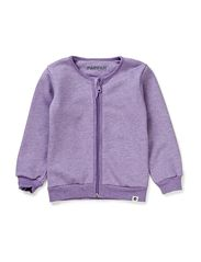 Baby Cardigan - 16 Purple Melange