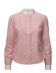 Pleat shirt - CORAL