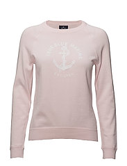 Pullover with logo - 422 LIGHT PINK