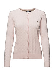 Cable cardigan - 422 LIGHT PINK