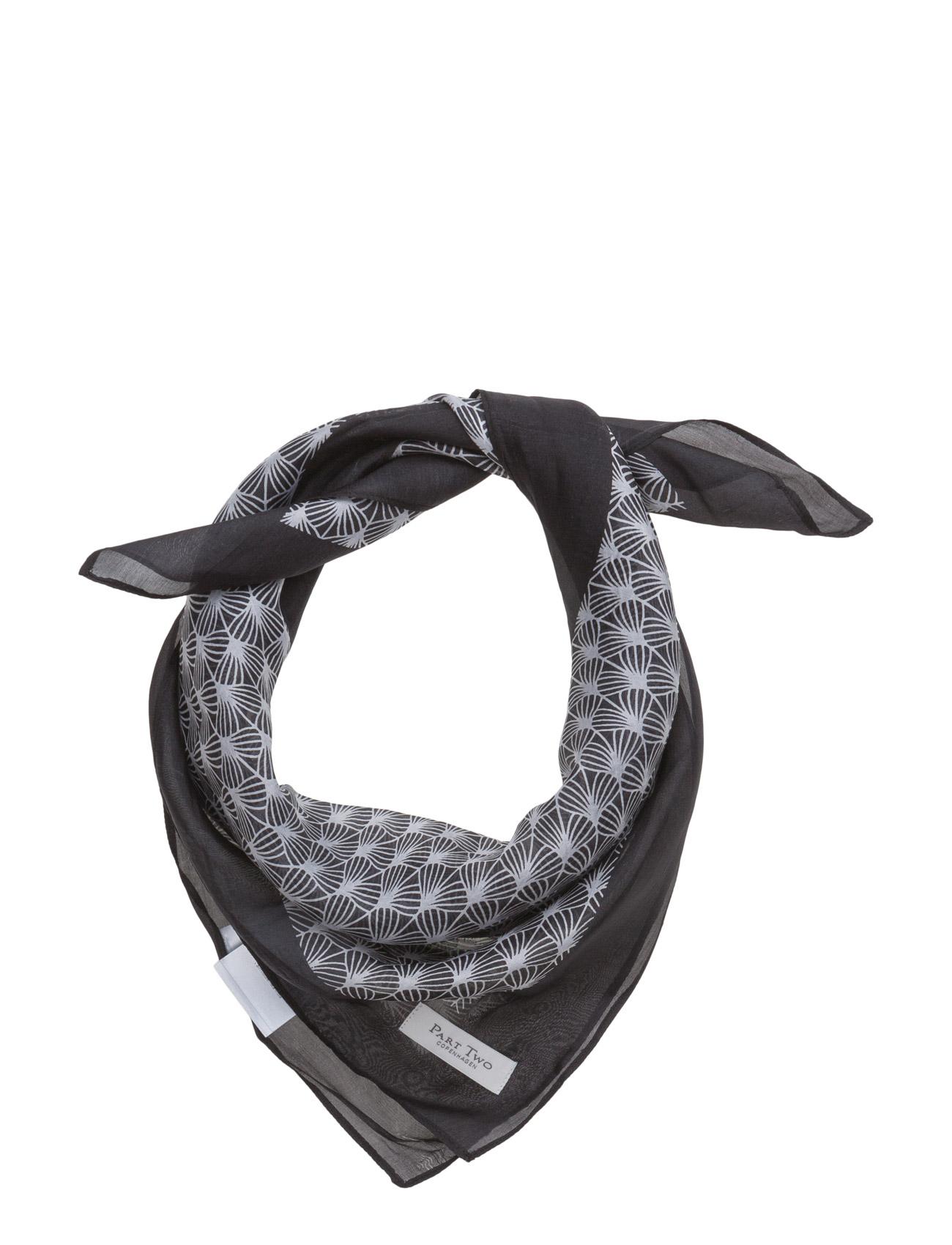 Gallia Sc Part Two Halstørklæder til Damer i artwork Black