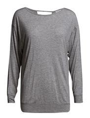 LIANETTE - Light grey melange