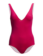 OLYMPIC STYLE SWIMMING COSTUME - Fuxia