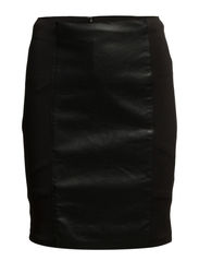 LEATHER MINI-SKIRT - K103