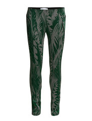 TIGHT TROUSERS IN STRETCH JACQUARD FABRIC - F2XQ