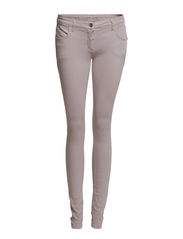 SKINNY JEANS IN STRETCH COTTON CANVAS - B467