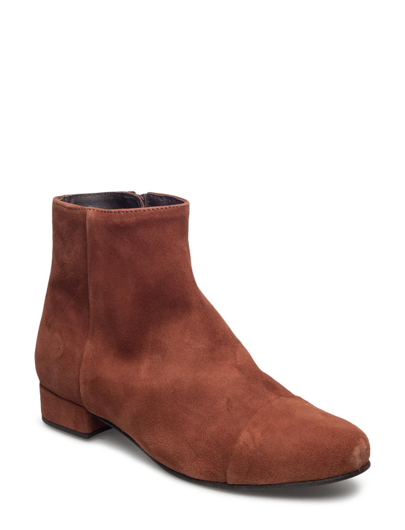 Sille Pavement Støvler til Damer i Rust