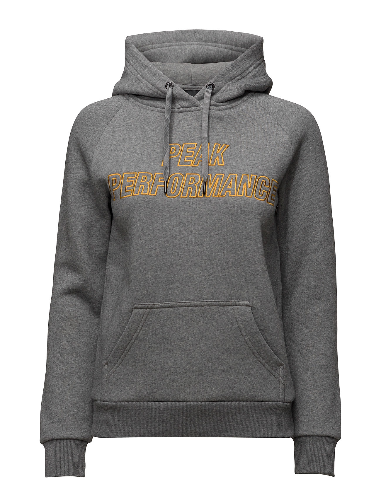 W Sweat H Peak Performance Sweatshirts til Damer i Grey Melange