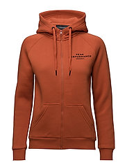 W LOGO ZIP - BLAZE ORANGE