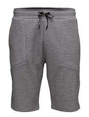 TECH SHORT - GREY MELANGE