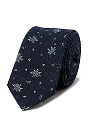 LAWNDALE Necktie - Navy Paisley